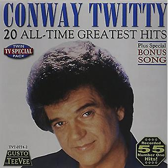 Conway Twitty - 20 All Time Greatest Hits [CD] USA import