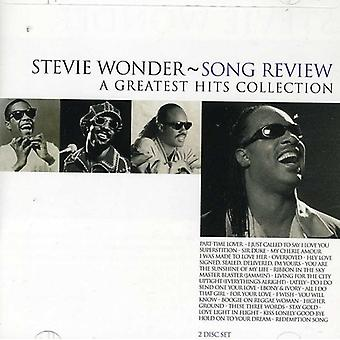 Stevie Wonder - Song Review-Greatest Hits [CD] USA import