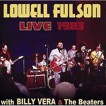 Lowell Fulson - Live 1983: W/Billy Vera & the Beaters [CD] USA import