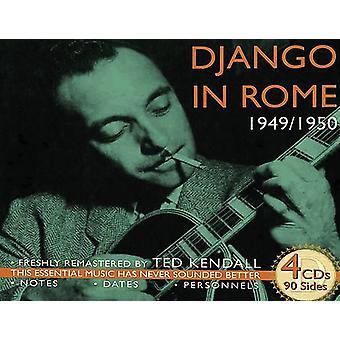 Django Reinhardt - Django in Rome 1949-50 [CD] USA import