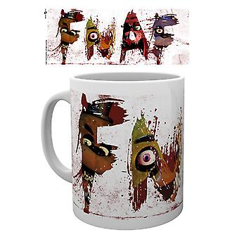 Fünf Nächte in Freddys Briefe Mug