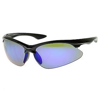 最高品質 TR 90 半縁なし半フレーム スポーツ サングラス UV400 ゴルフ/サイクリング