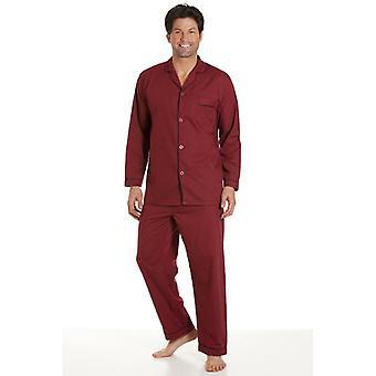 Haigman Classic Style Mens Bourgogne Pyjamas