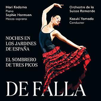 Falla / Yamada / Kodama / Harmsen - Manuel De Falla: Noches En Los Jardines De Espana [SACD] USA import