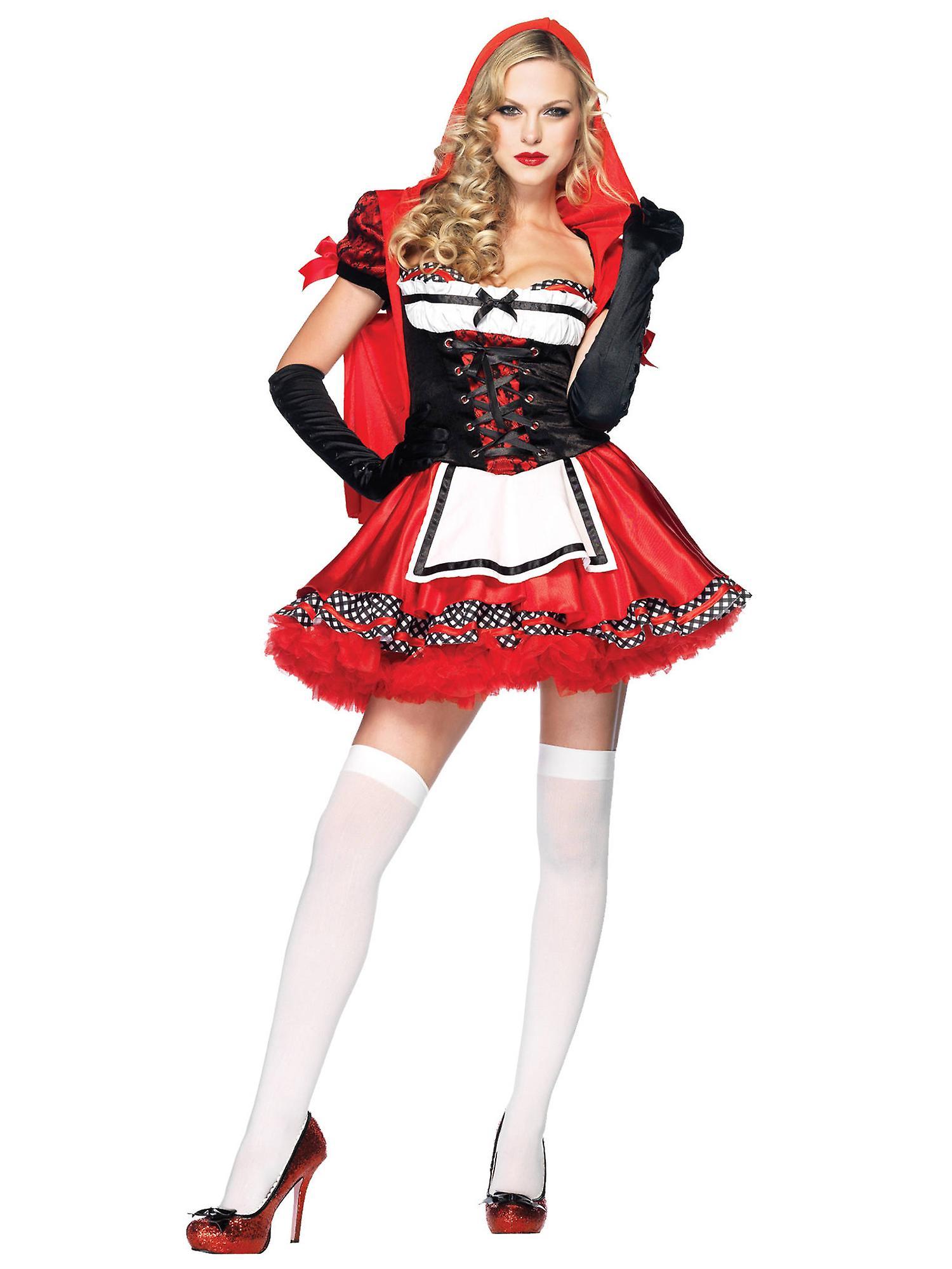 Divine Miss Little Red Riding Hood Story Book Week Fairytale Women Costume