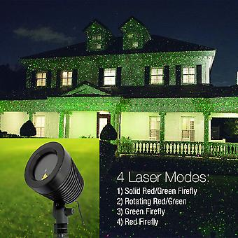 Modern Home Laser Light Projector - 3D Holographic Christmas Light Show