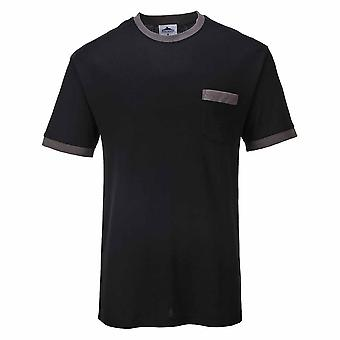 Portwest - Texo Classic Workwear Uniform Lightweight Comfort Contrast T-shirt
