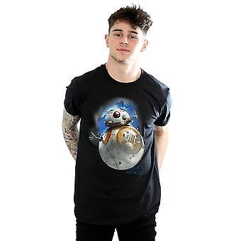 O último Jedi BB-8 Star Wars masculino escovado t-shirt