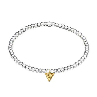 Triangle - 925 Sterling Silver Chain Bracelets - W29032X