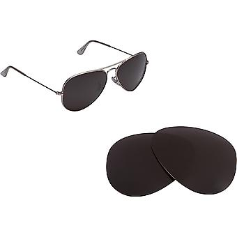 Polarized Replacement Lenses Compatible with RAY BAN Large Aviator 3025 58mm