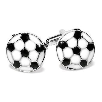 كرة القدم اكمام فضة-لهجة الرجال على شكل أزرار اكمام