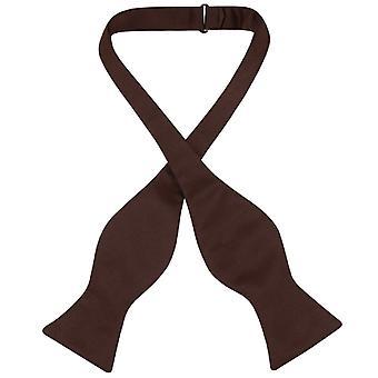 Vesuvio Napoli SELF TIE Bow Tie Solid Men's BowTie