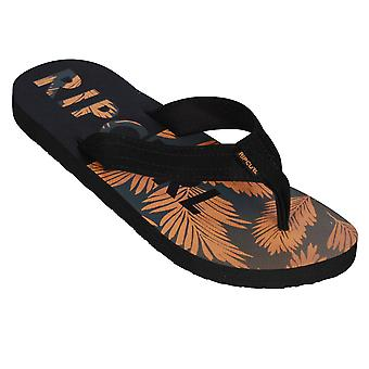 Rip Curl Mens Sandals ~ Ripper black orange