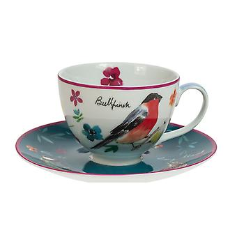 English Tableware Co. Garden Birds Tea Cup