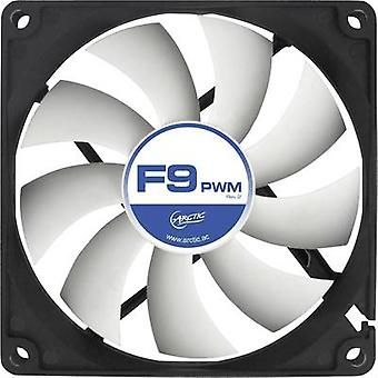 Arctic F9 PWM Rev. 2.0 PC ventilator Black, White (W x H x D) 92 x 92 x 25 mm