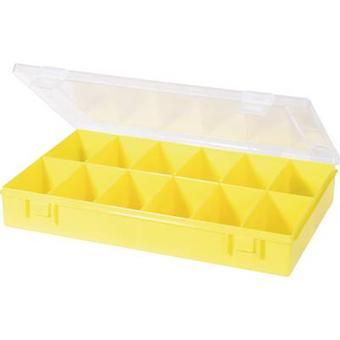 Caja de surtido de H-nersdorff (L x W x H) 335 x 225 x 55 mm No. de compartimentos: 12 compartimentos fijos 1 ud(s)