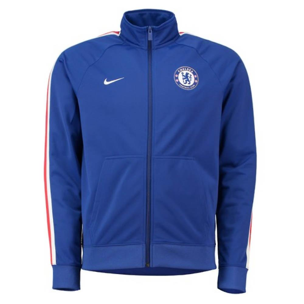 2018 2019 Chelsea Nike Core Trainer Jacket (Blue)