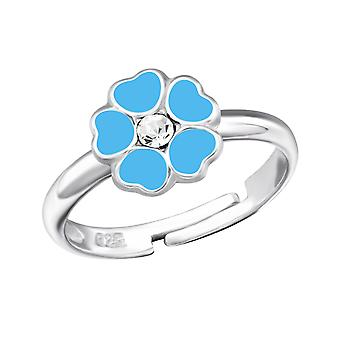 Flower - 925 Sterling Silver Rings - W27723x