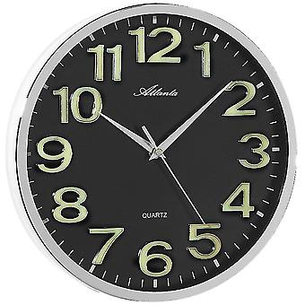 Wall clock quartz wall clock wall clock numerals self-luminous quartz