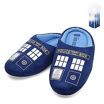 Doctor Who Tardis huis Slippers