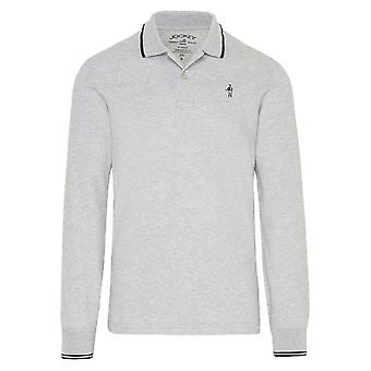 Jockey Langærmet Polo skjorte-grå