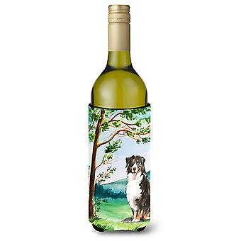 Unter den Baum Berner Gebirge Hund Weinflasche Getränk Isolator Hugger
