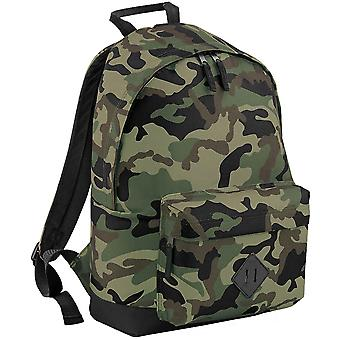 Outdoor Look Cam Padded 20 Litre Camo Backpack Rucksack