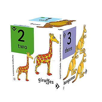 ZooBooKoo Educational Numbers Find The Odd One Out Cubebook Counting Learn