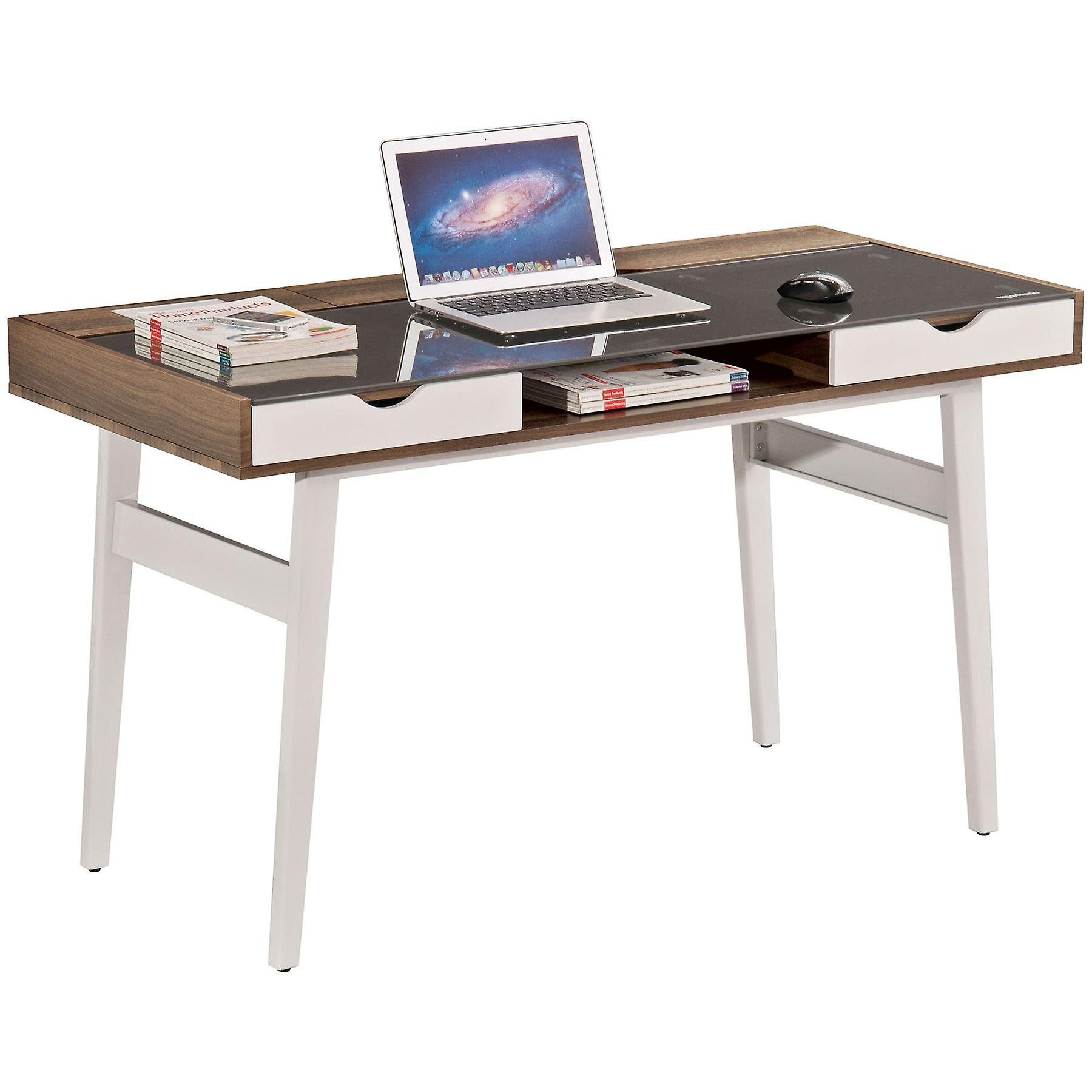 Sabalo Desk donker noten PC22w