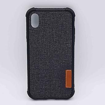 Para IPhone XR-pouch-Jeans look-preto