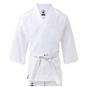 Bytomic kinderen 100% katoen Student witte Karate Uniform
