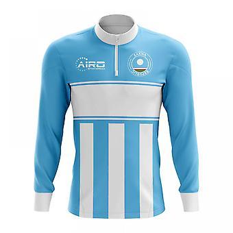 جمهورية ساخا مفهوم كرة القدم نصف الرمز البريدي ميدلايير العلوي (السماء الزرقاء-أبيض)