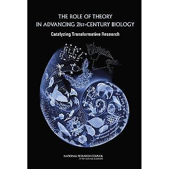 The Role of Theory in Advancing 21st Century Biology: Catalyzing Transformative Research