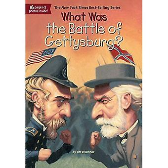 Quelle a été la bataille de Gettysburg?