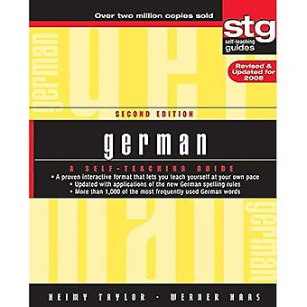 German: A Self-teaching Guide (Wiley SelfTeaching Guides)