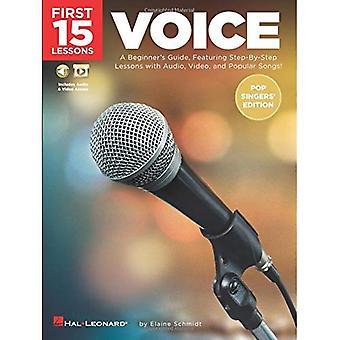 Første stemme 15 leksjoner - (Pop sangernes Edition)