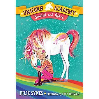 Unicorn Academy #2: Scarlett en Blaze (Unicorn Academie)