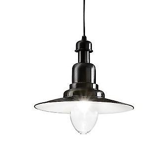 Ideal Lux - Fiordi nero sospensione singola IDL122052