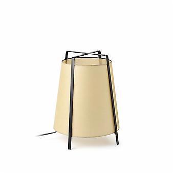 Faro - Akane svart bordslampa med Beige nyans FARO28370