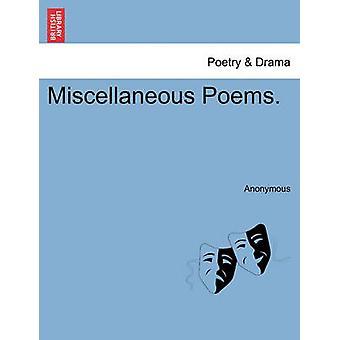 Diverse digte. af anonym