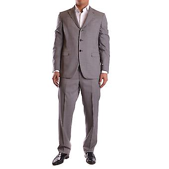 Burberry Ezbc001055 Costume de laine grise