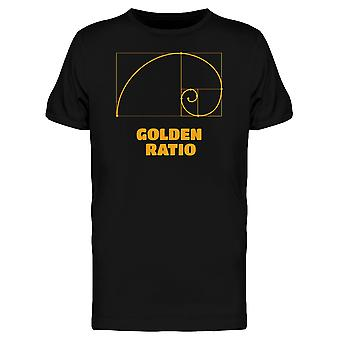 The Golden Ratio Icon Tee Men's -Image by Shutterstock