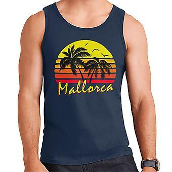 Colete de Mallorca sol Vintage masculino