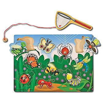 Bug Catching Magnetic Puzzle Game-