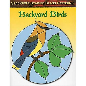 Backyard Birds: Stained Glass Patterns