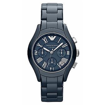 Emporio Armani Ar1470 Ladies Blue Ceramic Watch