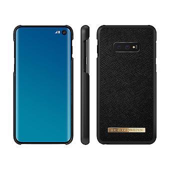 iDeal Della Svezia Samsung Galaxy S10e Saffiano Peel-Black