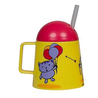 Tumtum Tiny copii ' s Beaker, cat design