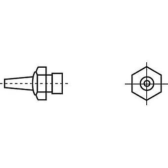Weller R04 hete lucht nozzle hete lucht sproeiers Tip maat 1,2 mm inhoud 1 PC (s)