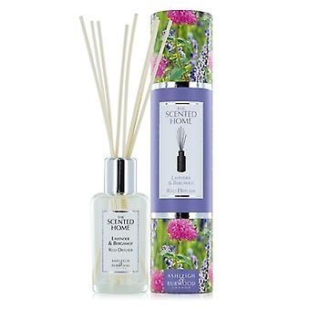 Ashleigh & Burwood Scented Home 150ml Reed Diffuser Gift Set Lavender & Bergamot